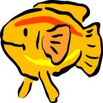 yellow,fish,animal,cartoon