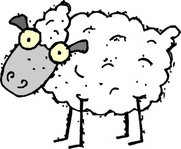cartoon,sheep