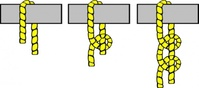knot,illustration,half,hitch,rope,sailing