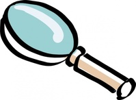 bitterjug,magnifying,glass,hand,drawn,magnifying glass,telescope,media,clip art,public domain,image,svg