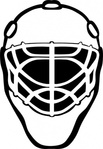 goalie,mask,simple,outline,sport,hockey,sport,sport