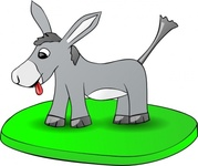 donkey,plate,media,clip art,public domain,image,png,svg,animal,cartoon