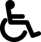 disabled,wheel,chair,access,sign