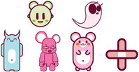 toy,object,toymonstar,teddy-bear,bandage,mouse,ghost,character,monstar,funny,toy,mouse,character,toy,mouse,character