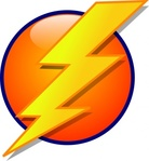 lightning,icon,shape,media,clip art,public domain,image,svg