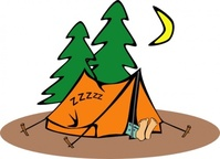 camper,sleeping,people,camping,tent,outdoors,cartoon,colouring book