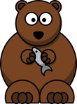 cartoon,bear,colour,animal,mammal,media,clip art,how i did it,public domain,image,png,svg