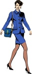 bussiness,woman,office,work,job,people,businesswoman,walking,media,clip art,public domain,image,png,svg