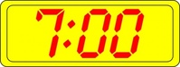 digital,clock,time,cartoon,sign,digital clock