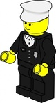 lego,town,policeman,toy,figure,minifig,job,media,clip art,public domain,image,png,svg