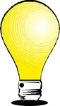 light,bulb,media,clip art,externalsource,public domain,image,png,svg,electric,electricity,light source,colour,yellow,pc for alla