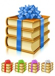 gift,book,with,ribbon,bow