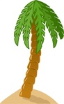 palmtree,color,cartoon,palm,tree,nature,media,clip art,public domain,image,png,svg