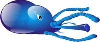 squid,monster,sea,water,fish,sea creature,media,clip art,public domain,image,png,svg