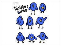 cute,simple,twitter,bird,graphics,amp,blue bird,blue,cartoon,hand,drawn,birds,birds