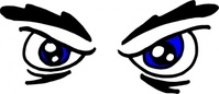 angry,eye,media,clip art,public domain,image,png,svg,cartoon,body part,line art,face,emotion
