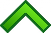 green,single,arrow,remix,icon,glossy,set,collection,clip art,media,public domain,image,png,svg