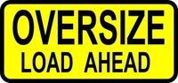 caution,oversized,load,roadsign,sign,media,clip art,public domain,image,svg