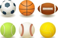 ball,team,sport,baseball,basketball,bowling,brown,cartoon,collection,curve,eight,football,game,golf,hobby,illustration,isolated,leisure,number,orange,pool,rugby,set,snooker,soccer,tennis,training,volleyball