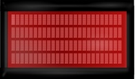 matrix,display,colour,red