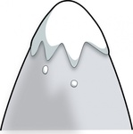 kliponius,mountain,cartoon,style