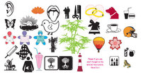 object,stock,mixed,bell,brush,butterfly,chick,bamboo-tree,tongue,doll,ice-cream,weeding-ring,sign,logo,chick,doll,logo,chick,doll,logo