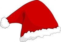 santa,media,clip art,public domain,image,svg,christmas,hat
