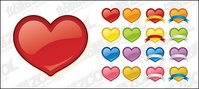 web2,style,heart,shaped,icon,material