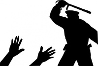 police,brutality,media,clip art,public domain,image,png,svg,people,violence,man,silhouette