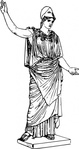 athena,ancient,greek,roman,art,mythology,religion,deity,goddess,sculpture,statue,drawing,line art,minerva,media,clip art,externalsource,public domain,image,png,svg,wikimedia common,wikimedia common,wikimedia common,wikimedia common