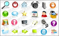 crystal,practical,three,dimensional,vector,icon,material