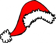 stephantom,santa,media,clip art,public domain,image,png,svg,hat,xmas,christmas,winter,clause,claus,cap