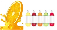orange,juice,bottle,empty,material,soft,drink,splash