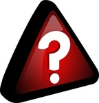 query,icon,remix problem,remix,question,prompt,series,red,black,triangle,sign