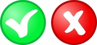 green,icon,tick,cross,okay,cancel,media,clip art,public domain,image,png,svg