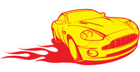 transport,free,vector,yellow,racing,car,cool