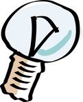 cartoon,light,bulb,lamp,hand,drawn,media,clip art,public domain,image,svg