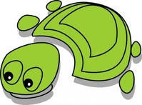 green,tortoise,cartoon,cleanup,turtle,media,clip art,public domain,image,png,svg
