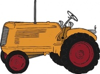 tractor,farm equipment,media,clip art,public domain,image,png,svg