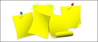 yellow,paper,note,material