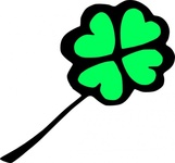 four,leaf,clover,media,clip art,externalsource,public domain,image,png,svg,nature,plant,luck,irish,shamrock,patricks day