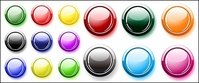 many,button,color,crystal,round,vector,material