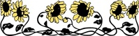 sunflower,border,media,clip art,externalsource,public domain,image,png,svg,flower,decorative,plant