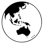 earth,globe,oceania,world,australia,asia,planet,media,clip art,public domain,image,svg