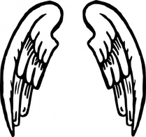 Cro And Wing Tattoo Vector For Free Ai Svg And Eps