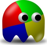 pcman,game,ghost,baddie,arcade,funny,media,clip art,public domain,image,png,svg
