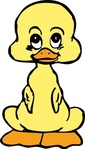 baby,duck,media,clip art,externalsource,public domain,image,png,svg,cartoon,animal,bird,duckling,uspto