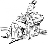dapper,man,person,rich,suit,chair,sitting,media,clip art,externalsource,public domain,image,png,svg