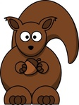 cartoon,squirrel,colour,animal,mammal,funny
