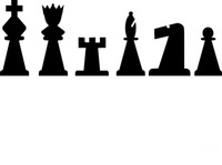 black,chess,piece